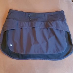 Lululemon Hotty Hot Skort II in Black - Mesh SZ 8